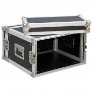 "JV CASE FLIGHTCASE RACK 6 Unidades rack 19"""