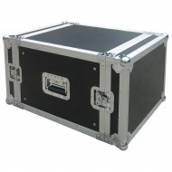 JV CASE FLIGHTCASE RACK 8 UNIDADES RACK 19""