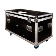 JV CASE Baul de transporte 120 x 60 x 60 cm con ruedas
