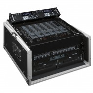 "JV CASE Flightcase 19"" de 6/10U Frontal 6U + Superior 10U"