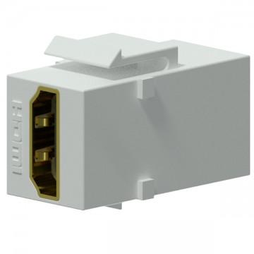 PROCAB Conector HDMI - HDMI color blanco KESTONE