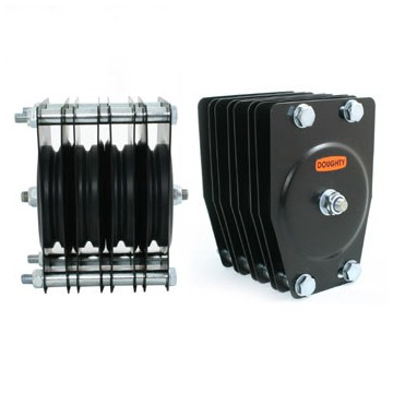 DOUGHTY POLEA ESTANDAR 4 VIAS Ø 150 mm Cable 6 mm