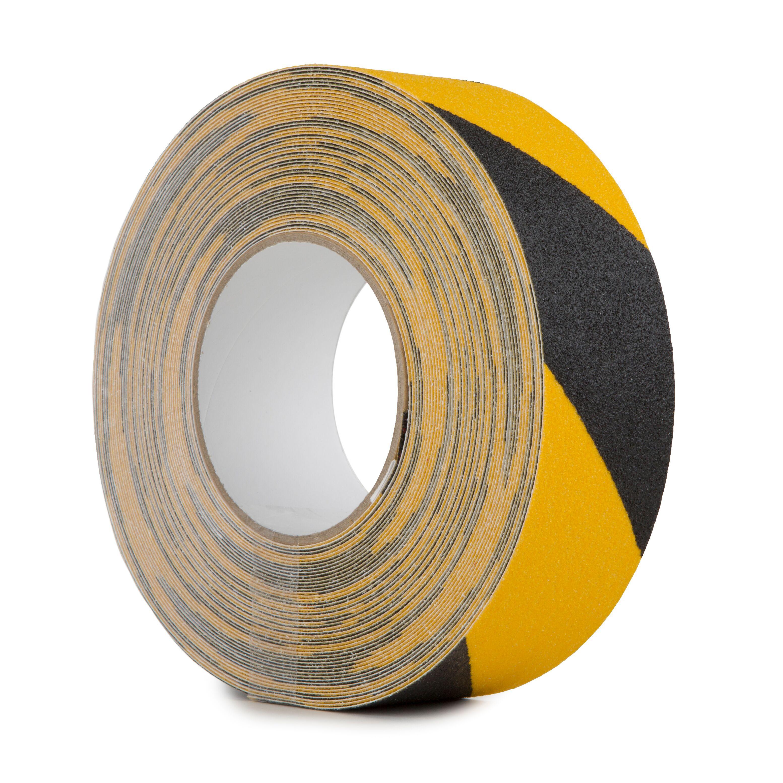 cinta de suelo resistente 25 mm x 5 m para marcar el suelo adhesivas 2 bandas antideslizantes para escaleras pegatinas de seguridad fuertes