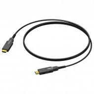 PROCAB CABLE HDMI-HDMI 20m ACTIVO FIBRA OPTICA