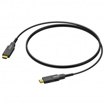 PROCAB CABLE HDMI-HDMI 50m óptico activo fibra óptica