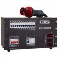 BRITEQ PD-63SH distribuidor corriente socapex + harting
