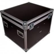 JV CASE Flighcase para 4 proyectores de iluminación con separadores