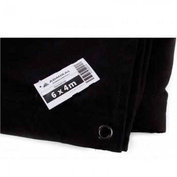 ADMIRAL Telón Ancho 6m x Alto 4m color negro 320 gr/m2