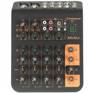 AUDIOPHONY Mi4U MESA 4 CANALES 2 MIC + 2 STEREO Y AUX + PUERTO USB