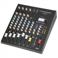 AUDIOPHONY MPX8 MESA 8 CH + COMPRESOR + EFECTOS + USB/SD/BT