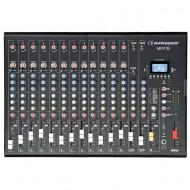 AUDIOPHONY MPX16 MESA 16 CH + COMPRESOR + EFECTOS + USB/SD/BT