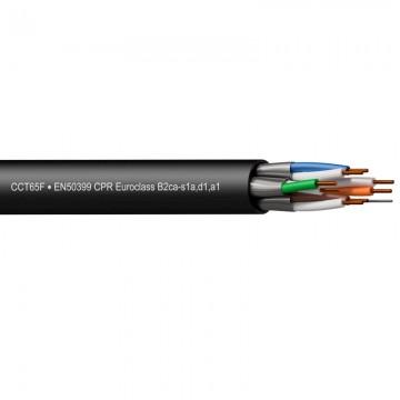 PROCAB CABLE CAT6A U/FTP CRP B2ca-s1a, d1,a1 en rollo de 305m