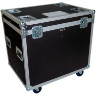 BRITEQ Flightcase para 4 Fresnel Theater 250EZ Zoom