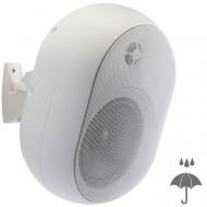 AUDIOPHONY JAVA530w Pareja altavoz IP55 100V, 15/30W 16 Ohm color blanco