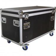 TRITON FLIGHTCASE TRANSPORTE 120x60x60cm con 2 separadores y bandeja
