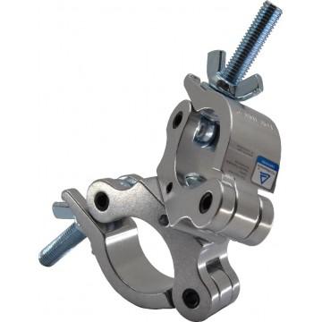 TRITON ABRAZADERA DOBLE 38-52 mm 300Kg 30 mm Plata