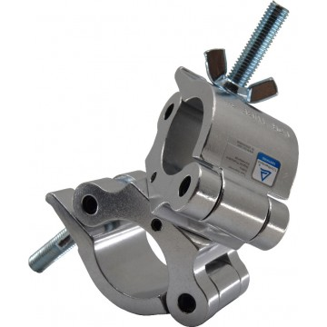 TRITON ABRAZADERA DOBLE 38-52 mm 500 Kg 50 mm Plata