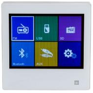 AUDIOPHONY WALLAMPtouch Amplificador 2x10W pantalla táctil SD/BT/RADIO/AUX