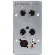 AUDIOPHONY WP8 Controlador audio con selector fuente y entrada Mic y linea
