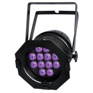 BRITEQ Proyector PAR 6in1 12 LED de 12W RGBWA+UV 15º color negro