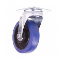 ADMIRAL Rueda giratoria diámetro 160 mm, color azul, sin freno
