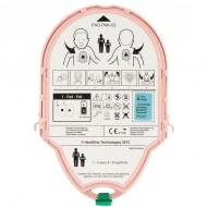 Batería original + electrodos Pad pediatrico Samaritan Litio 18V 1,5Ah Heartsine