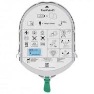 Bateria original + electrodos Pad adulto Samaritan Litio 18V 1,5 Ah Heartsine