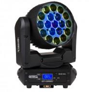 BRITEQ BT-ORBIT CABEZA MOVIL 19 LED 15W RGBW ZOOM 10 a 60º