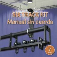 DOUGHTY KIT SIX TRACK 7 m, apertura manual