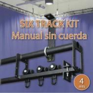 DOUGHTY KIT SIX TRACK 4 m, apertura manual