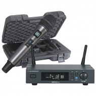 AUDIOPHONY PACK-UHF410-Hand-F5 RECEPTOR UHF + MICRO DE MANO + ESTUCHE