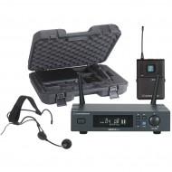 AUDIOPHONY PACK-UHF410-Head-F5 RECEPTOR UHF T.DIV.C/PETACA+MICRO DIADEMA+ESTUCHE 500MHz