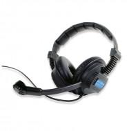ALTAIR auricular doble con microfono y conector mini XLR-4P