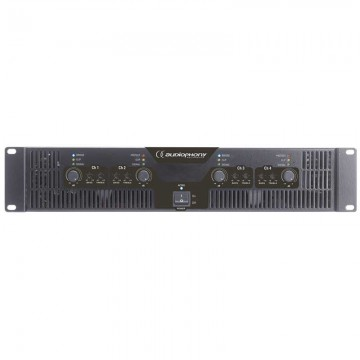 AUDIOPHONY WA-4X3 AMPLIFICADOR 4 CANALES 300WTotal 1200W