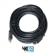 CABLE HDMI-HDMI 19 PINS 2.0 PREMIUM HEAC 4K 7 m.