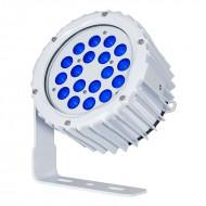 LEDJ PROYECTOR 18 LED AZULES x 3W IP67 15º (ASPECT XL)