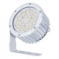 LEDJ PROYECTOR 18 LED BLANCO x 3W IP67 15º + 31º (SPECT XL)