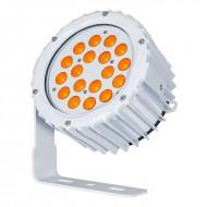 LEDJ PROYECTOR 18 LED AMBAR x 3W IP65 16º (ASPECT XL)