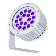 LEDJ PROYECTOR 18 LED X 3W UV IP67 15W (ASPECT XL UV)