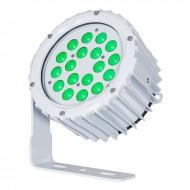 LEDJ PROYECTOR 18 LED VERDE x 3W IP67 15º + 31º (ASPECT XL)
