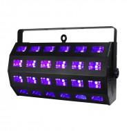 EQUINOX Proyector 24 LED de 3W LUZ NEGRA