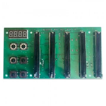 TRITON PCB control potenciometros + display + pulsadores para cañón LED 440W