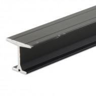 SilujTEX Carril Medium Aluminio apertura manual sin cuerda m/lineal