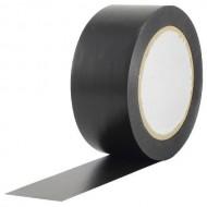 CINTA PVC FLOORTAPE 50 mm x 33 m NEGRO MATE