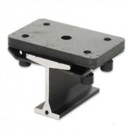 SilujTEX soporte corto fijación a techo carril aluminio SilujTEX