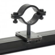 SilujTEX soporte para tubo perpendicular con carril aluminio