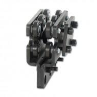 SilujTEX cabeza motriz normal para carril aluminio