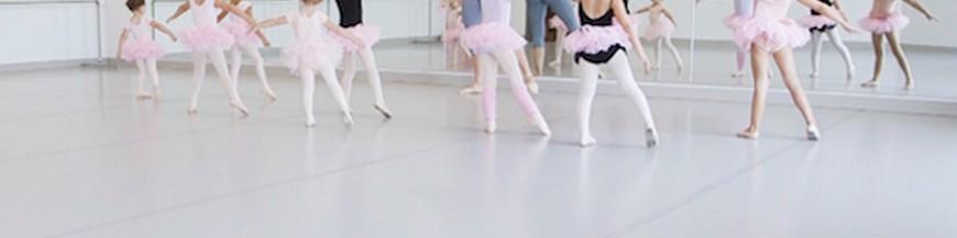 Linóleo y suelo danza
