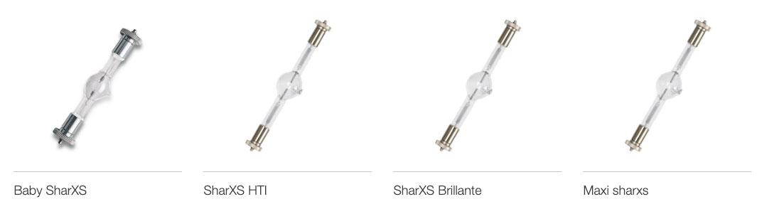 Osram-Baby-SharXS,-osram-SharXS-HTI,-Osram-SharXS-Brillante,-Osram-Maxi-SharXS