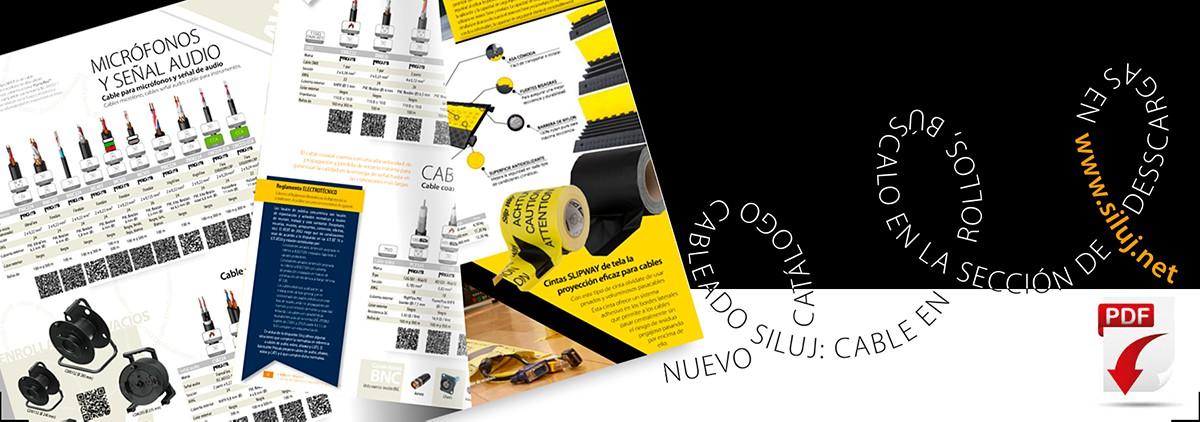 Nuevo catálogo cableado audiovisual: cable en rollos